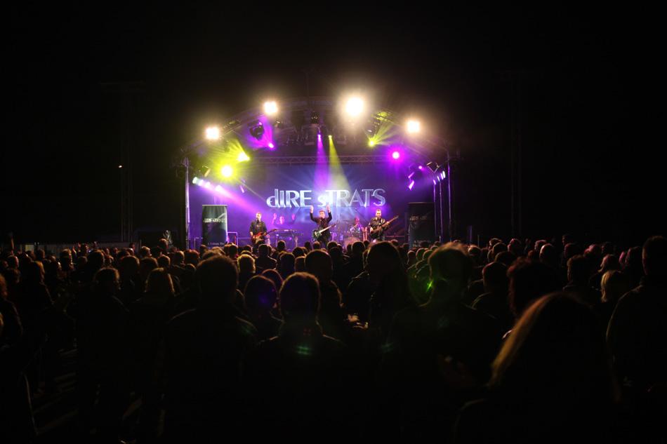Das 1. Bünder Irish-Festival mit dIRE sTRATS.