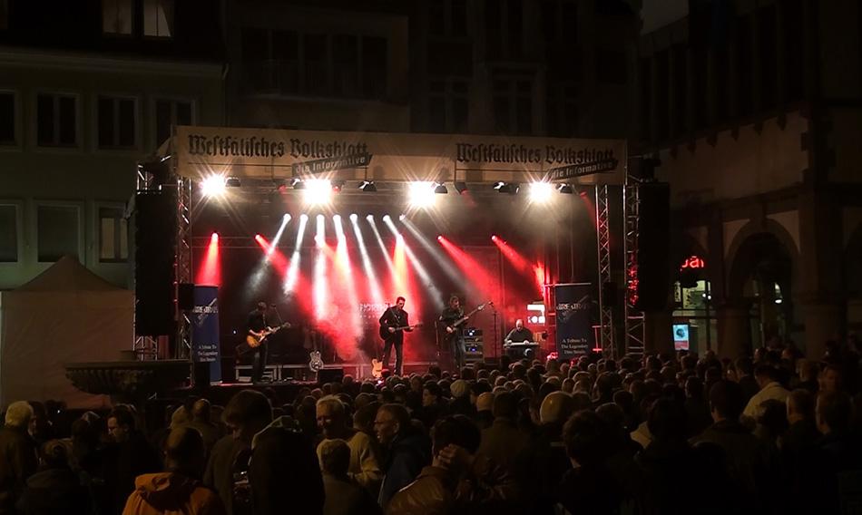 Open Air auf dem Rathausplatz