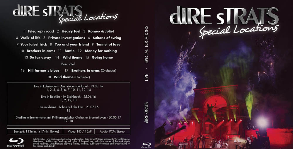 Special Locations - Die brandneue Live Doppel CD